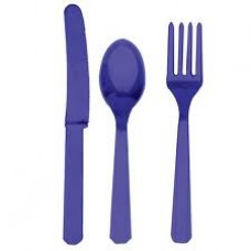 Tableware - Purple Cutlery