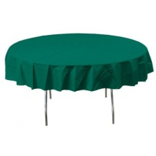 Tableware - Forest Green Round Table Cover