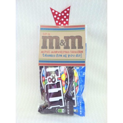 Teacher Gift - M&M