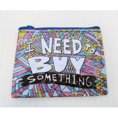 Misc - Buy Something Coin Purse
