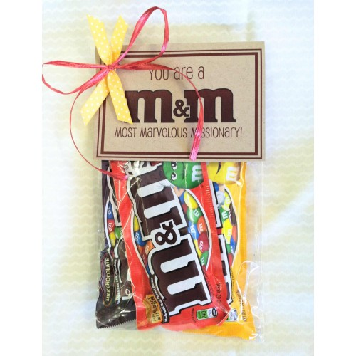 ... Missionary Gift - Most Marvelous M&M
